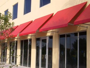 Awnings for Office Building